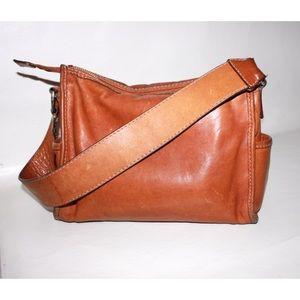 Michael Kors Aged Leather Minimal Shoulder Bag